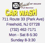 free car wash with Manalapan auto body repair